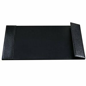 Woven Desk Pad With Smooth Writing Surface And Woven Side Panel 24 X 38