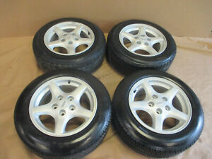 95 96 Firebird Trans Am Silver Wheels 16x8 Set Of 4 W 215 60 16 Tires Local Only
