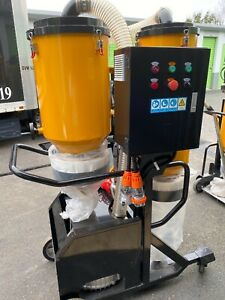 V7 Hepa Vacuum Dust Collector For Concrete Floor Machine 10hp 3phase 480volt