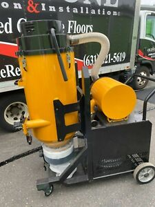 V5 Hepa Vacuum Dust Collector For Concrete Floor Machine 10hp 1phase 220volt