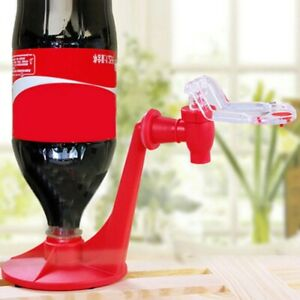 Coke Dispenser Upside Down Fountain Machine Soft Drink Saver Beverage Party Tool