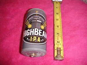 High Beam Beer Can Style Shifter Knob Old Car 34 32 3 8 X 16 Thread Rat Rod