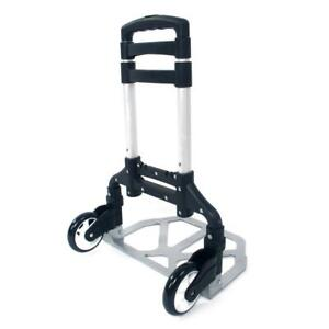 Portable Aluminum Folding Hand Truck Dolly Heavy duty Luggage Cart With Handle
