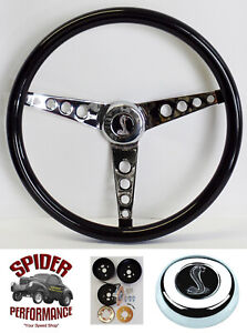 1970 1973 Mustang Steering Wheel Cobra 15 Glossy Grip