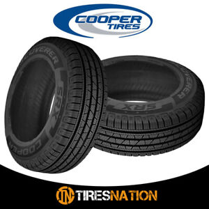2 New Cooper Discoverer Srx 235 70 16 106t Traction And Performance Tire