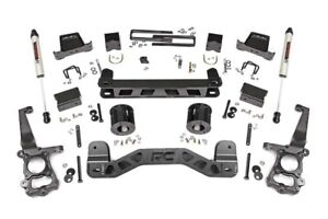 Rough Country 6 Lift Kit V2 Shocks fits 2011 2014 Ford F150 2wd Suspension