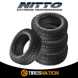 4 New Nitto Ridge Grappler 285 50 22 121 118q All Terrain Tire