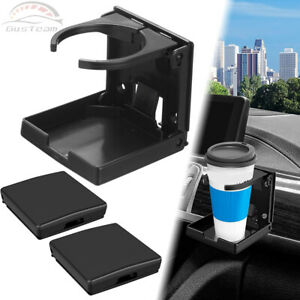 360 adjustable 2in1 Multifunction Cup Holders Universal Drink Bottle For Car Us