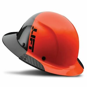 Lift Safety Dax Fifty 50 Carbon Fiber Full Brim Hardhat
