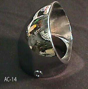 Air Cleaner Curved Scoop 2 5 8 Neck Rochester Carbs 1 Ac 14 Rochester