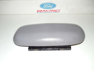 01 02 03 04 Ford Mustang Gt Center Console Arm Rest Gray Armrest Pad Nice Oem