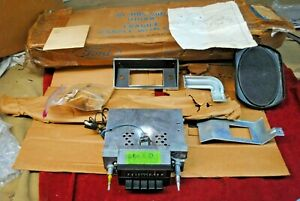 68 69 70 71 72 Nos Ford F 100 Pickup Truck Am Radio Complete Installation Kit