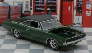 1968 Dodge Charger R t Muscle Car Diecast Limited Edition Free Shipping