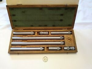 Nsk 2 40 Inside Micrometer 001 Original Wooden Case Good Condition