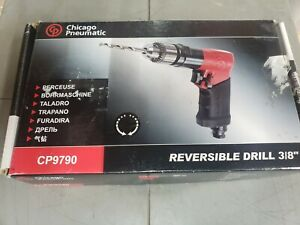 Chicago Pneumatic Cp9790c Drill Air Powered Pistol Grip 3 8 In
