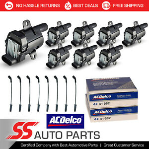 Engine Ignition Coil Wire Acdelco Spark Plug For Chevrolet Express 5 3l
