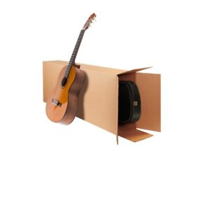 18x6x45 Electric Guitar Shipping Packing Boxes Moving Heavy Duty Ships Fast
