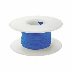 100ft Wire Wrap Blue Solid 30awg 30ga Kynar Silvered Copper Wire L2