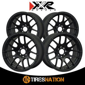 4 Xxr 530 19x8 75 5 4 5 73 1 Hub 35 Offset Flat Black Wheel Rim