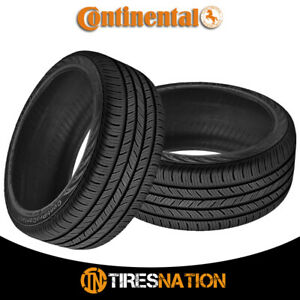 2 New Continental Contiprocontact 255 45 18 99h All season Grand Touring Tire