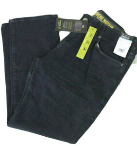 LEE EXTREME MOTION JEANS Athletic Fit Flex Waist Stretch Tapered Leg Zander Blue $27.95