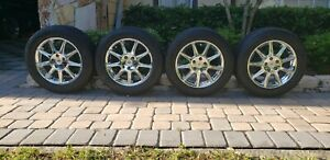 2008 2011 Cadillac Dts Oem Rims Tires buyer May Arrange Shipping