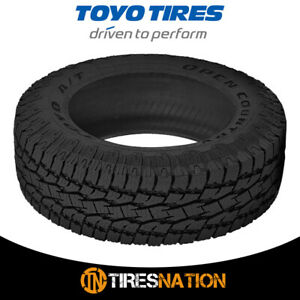 1 New Toyo Open Country A t Ii 35 12 5 22 121q All terrain Traction Tire