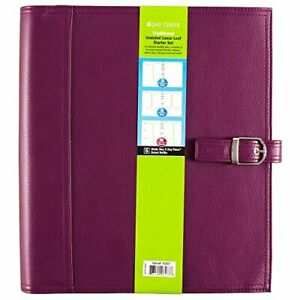 Day timer Undated Loose leaf Starter Set Size 5 Traditional 8 5 X 11 Inch Pag