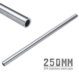 Silver 304 Stainless Steel Capillary Tube 12mm Od 10mm Id 250mm Length Usa