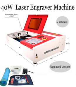 Sale 40w Co2 Usb Laser Engraving Cutting Machine Engraver Cutter 220v 110v