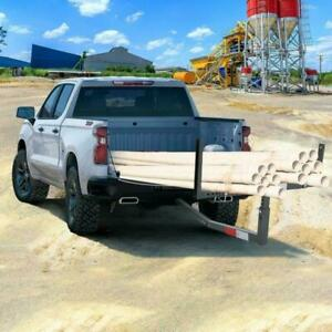 Pick Up Truck Bed Hitch Extender Extension Rack Ladder Canoe Boat Kayak Lumber