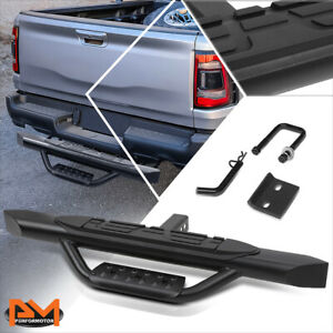 Universal 36 5 w X 3 75 oval Trailer Towing Rear Hitch Step Bar Fits 2 Receiver
