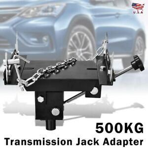 0 5 Ton Transmission Jack Adapter Heavy Duty Automotive Gearbox Removal Adaptor