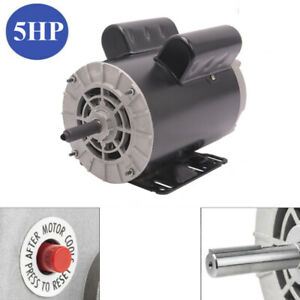 New 5hp 7 8 Shaft 3450rpm Air Compressor Duty Electricity Motor 1phase 56 Frame