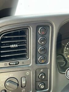 Silverado Switch Panel 4 Toggle Blue Switches Nbs 1999 2007 Led Gmc Chevrolet