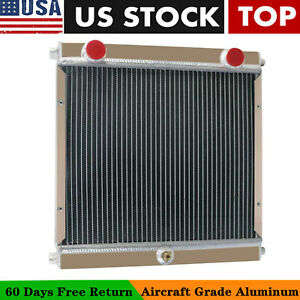 3 Rows Radiator Fit Mv Agusta Dragster Harley Roadster Style Motorcycle