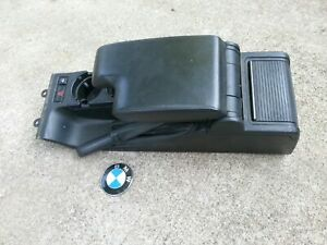 Bmw E46 325i 330i 325ci 330ci Center Console Armrest Assembly Black 1999 2006