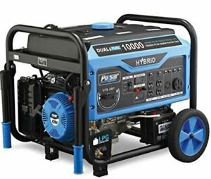 10 000 Watts Dual Fuel Gas propane Generator W Electric Start