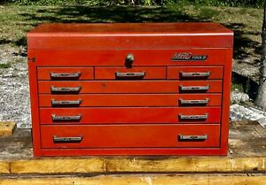 Vintage 1970s Mac Tools Tool Box chest 7 Drawers Made In Usa Super Rare