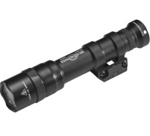 Black SureFire M600DF Scout Dual Fuel LED Weaponlight Thumbscrew Mount M600DF BK $99.99
