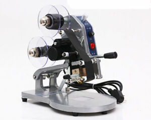 Dy 8 Direct Thermal Foil Stamp Printer Coding Machine Date Ribbon Coder 220v