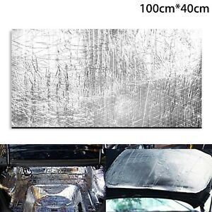 1 Sheets Car Sound Proofing Deadening Vehicle Insulation Closed Cell Foam 10mm