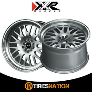 2 Xxr 531 17x8 5 100 73 1 Hub 35 Offset Hyper Silver Ml Wheel Rim