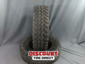 2 Used 37 11 20 Nitto Trail Grappler M T 11r R20 Tires 27153