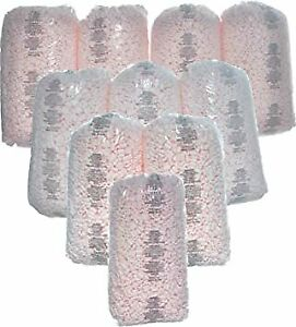 Wholesale Price Packing Peanuts Bag Fill 260 Gallons 10 X 3 5 Cu Ft Pink Loose