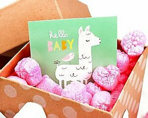 Packing Peanuts Pink Heart Shape 1 0 Cu Ft Bag Compostable Biodegradable To Love
