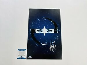 Evanescence Rare Amy Lee Hand Signed Autographed VIP Promo Poster Print BAS COA $199.99