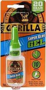 Super Glue Gel Clear Adhesive For Plastic Metal Wood Stone Paper Leather 20 Gram