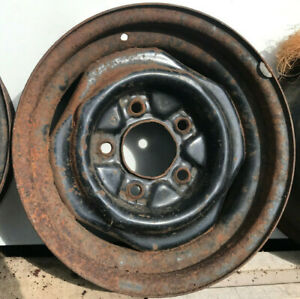 Ford Kelsey Hayes Oem 15 X 6 Inch 5on5 5 Wheel Rim Used Riveted A