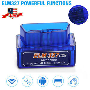 Elm327 Obd2 V2 1 Bluetooth Car Diagnostic Scanner Android Auto Scan Tool Us
